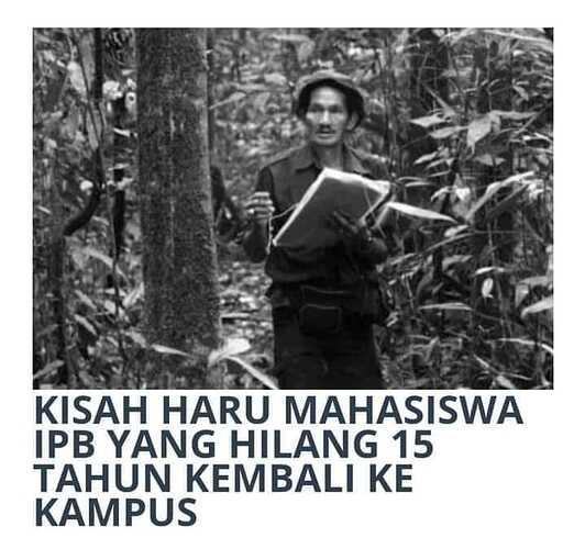 Muhammad Kasim Arifin-Puisi Orang Hilang 15 Tahun oleh TaufiQ Ismail-bahasawan